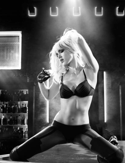 """Jessica Alba y la evolución de su personaje en """"Sin City 2"""": de víctima a sexy guerrera."""