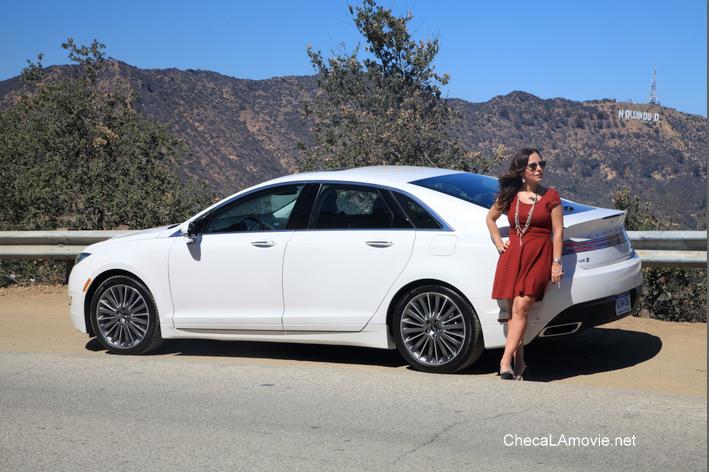 Un fin de semana de película en LA con el Lincoln MKZ Hybrid, Electric Dusk y fabulosos amigos.