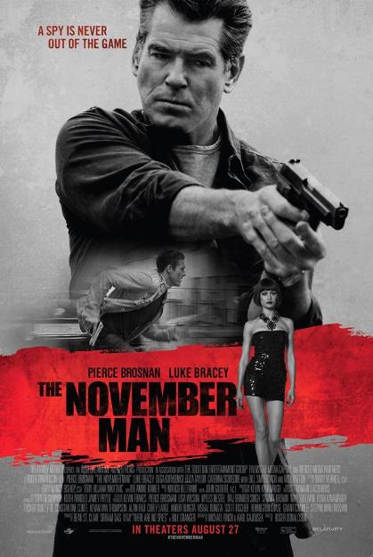 Pierce Brosnan: Noviembre es el preludio de Invierno, cuando todo muere. #TheNovemberMan.