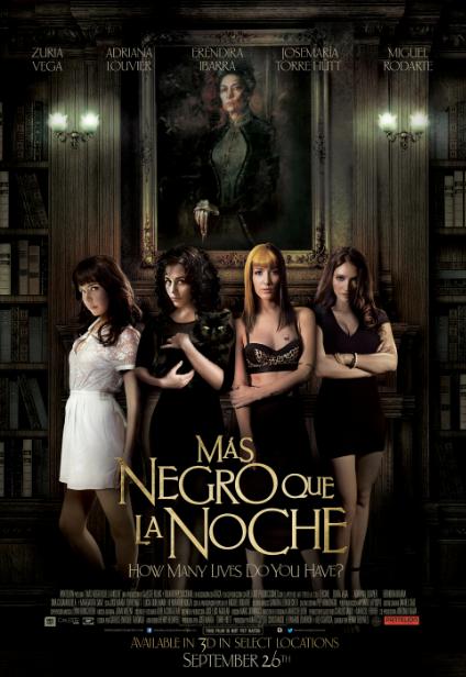 """Regresa al cine """"Más Negro que la Noche""""."""