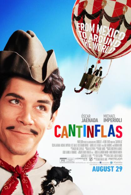 "La película ""Cantinflas"" seleccionada para representar a México en los Oscar."