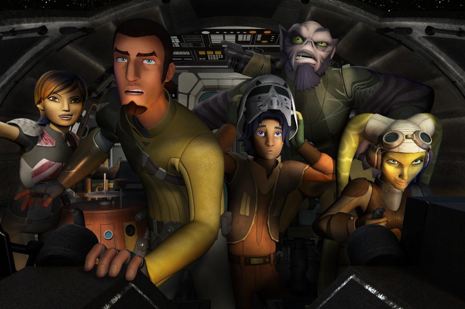 """""""Star Wars Rebels"""" la primera serie animada de """"Star Wars"""" producida por Disney."""