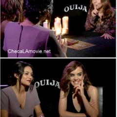 """Ana Coto y Bianca Santos: Su experiencia en la película de terror """"Ouija""""."""