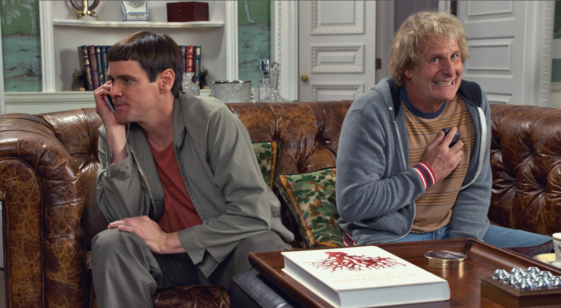 "Screening ""Dumb and Dumber To"". ¿ Quiéres ir al cine ?"