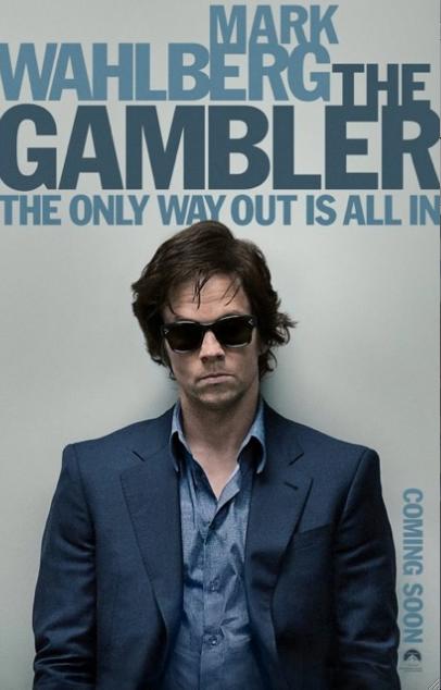 """Mark Walhlberg con 30 kilos menos nos regala una impactante actuación """"The Gambler""""."""