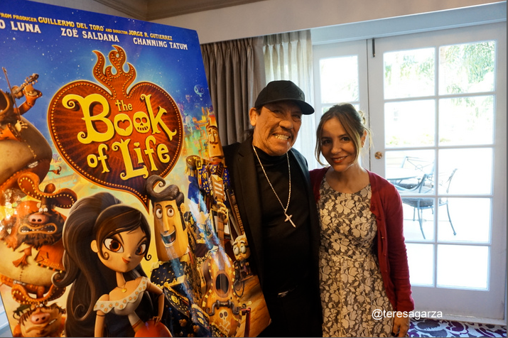 """Danny Trejo: """"The Book of Life"""" una forma muy viva de hablar del Día de los Muertos. Ya salió el DVD."""