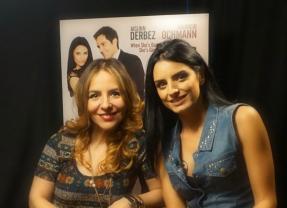 """Aislinn Derbez y Mauricio Ochamann se enamoraron a la buena en """"A La Mala""""."""