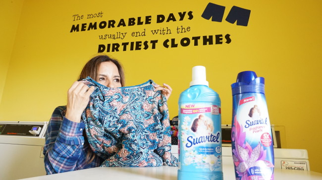 Los días más memorables generalmente terminan con ropa sucia. #LongLastingScent