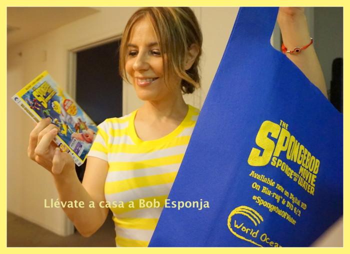 Llévate a casa la película de Bob Esponja #BobSpongeMovie Sorteo DVD.