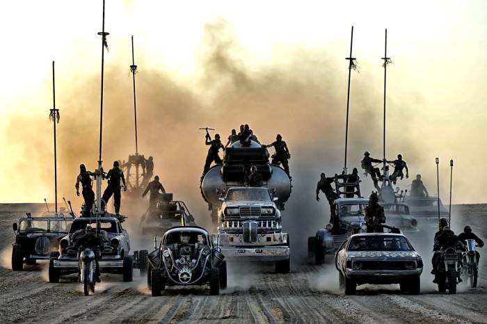 """Prepárate para vivir un intenso viaje con """"Mad Max: Fury Road""""."""