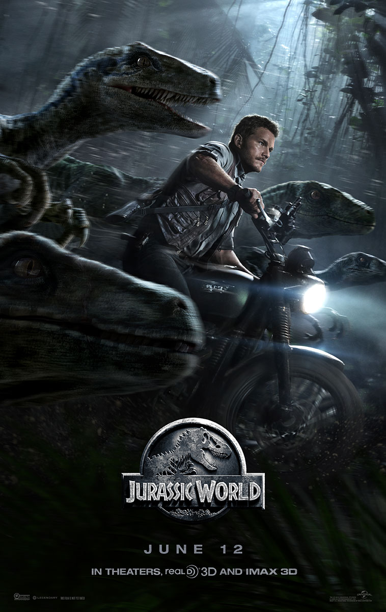 "Screening ""Jurassic World"" en 15 ciudades de Estados Unidos."