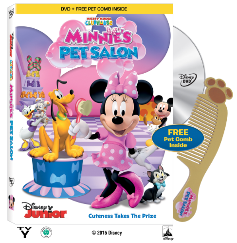 Reseña y Sorteo de MMC Minnie's Pet Salon DVD.
