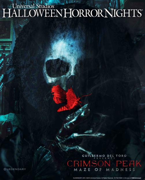 """""""Crimson Peak"""" promete terror en el cine y en Universal Studios Hollywood."""