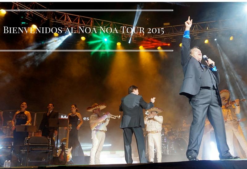 Bienvenidos al Noa Noa Tour 2015