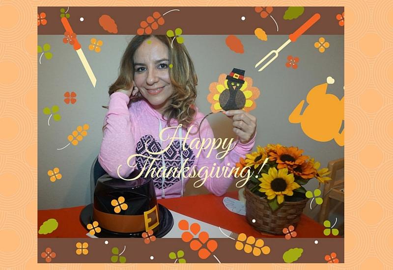 Diadema para niñas Día de Acción de Gracias. Manualidad #DIY