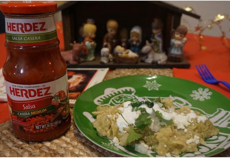 Chilaquiles con Salsa Verde HERDEZ®. Únete a #LasPosadas y gana.