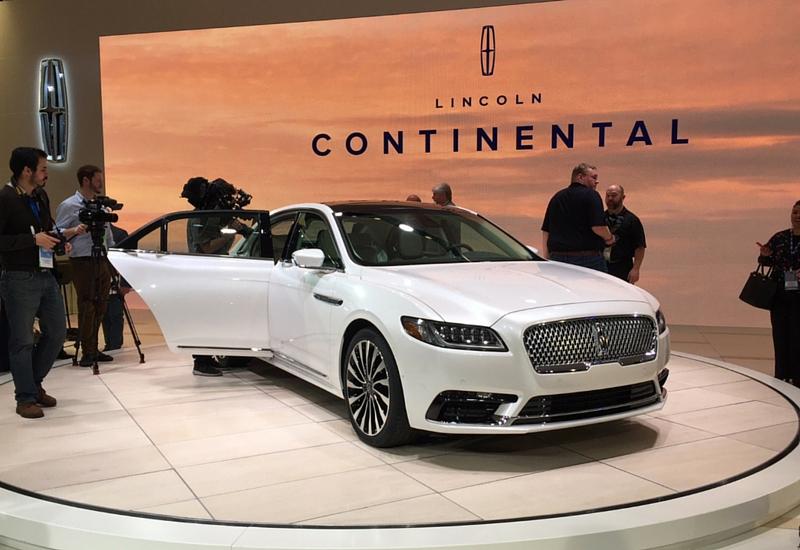 Continental, la nueva cara de Lincoln. #FordNAIASEsp