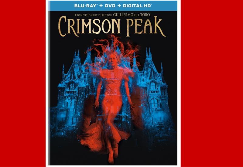 Sorteo Blu-Ray Crimson Peak de Guillermo del Toro.