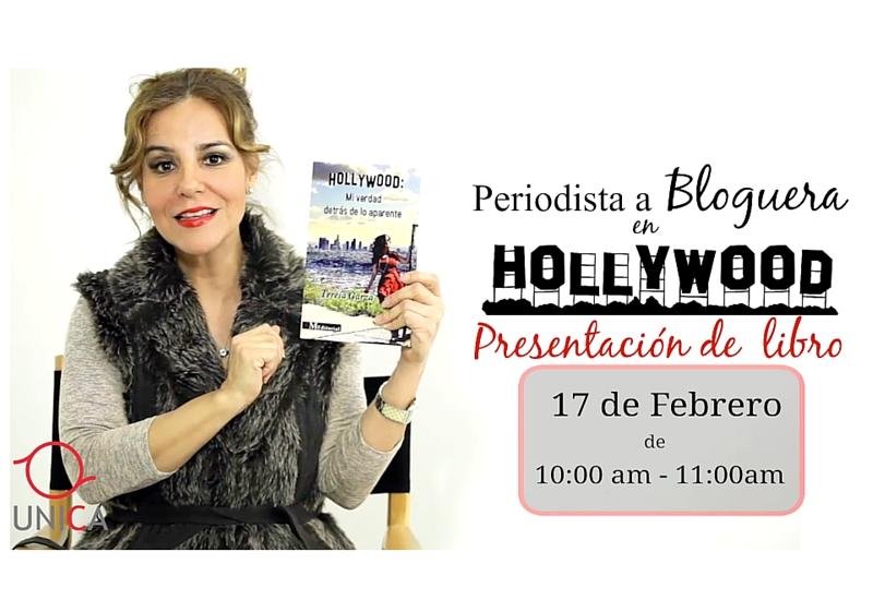 Conferencia y presentación de libro Hollywood: Mi verdad.