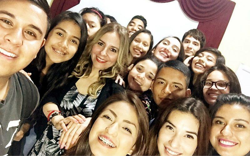 Charla con estudiantes Junket en el SET Monterrey. #SiempreHaciaAdelante