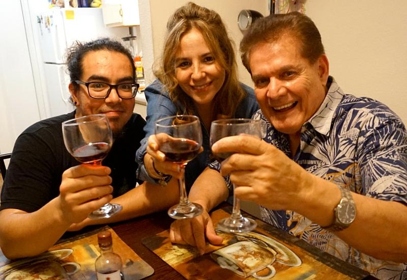 El vino perfecto para una cena familiar de verano. #SummerVino
