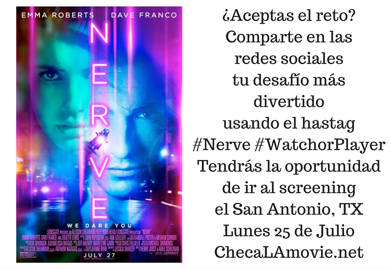 Screening Nerve San Antonio. #WatchorPlayer