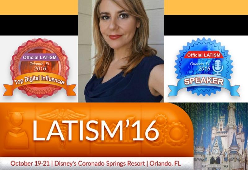 Los latinos somos agentes de cambio: De Blogger Comunitario a Autor. #LATISM16