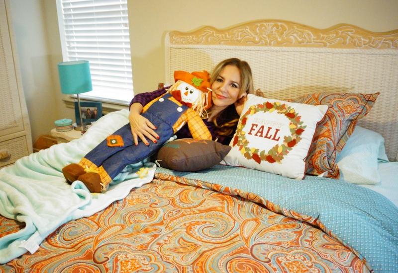 Decora tu habitación con motivos otoñales de JCPenney. #SoWorthIt