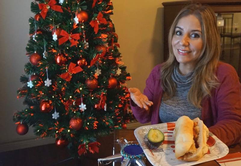 Para mi posada: Guacamayas con aguacate y chile jalapeño. #KnorrSabor #VivaLaMorena