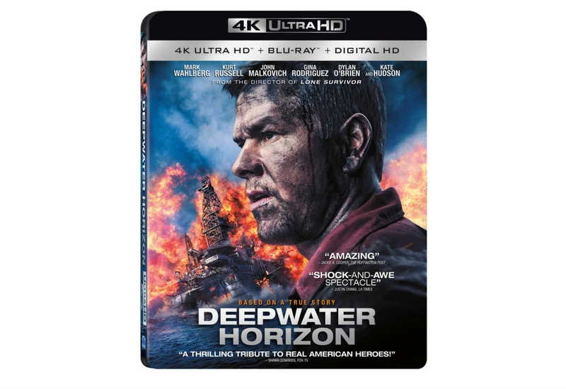 Con motivo del lanzamiento del DVD de Deepwater Horizon. #Sorteo