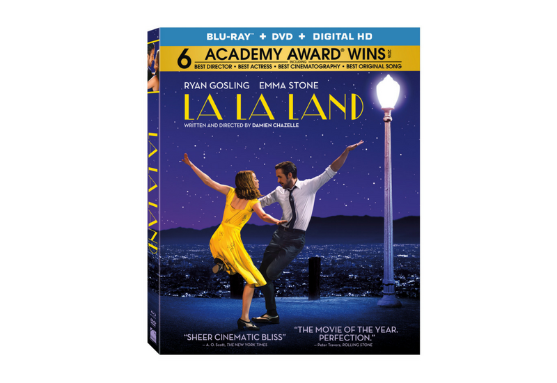 Sorteo DVDs La La Land.