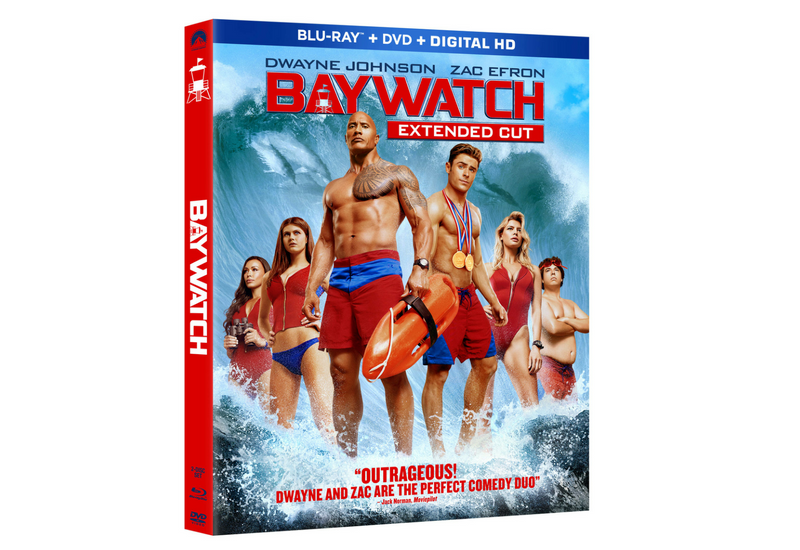 Llévate a casa el DVD de Baywatch. #Sorteo