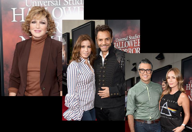 Las estrellas latinas hacen escala en las Halloween Horror Night en Universal Studios Hollywood..