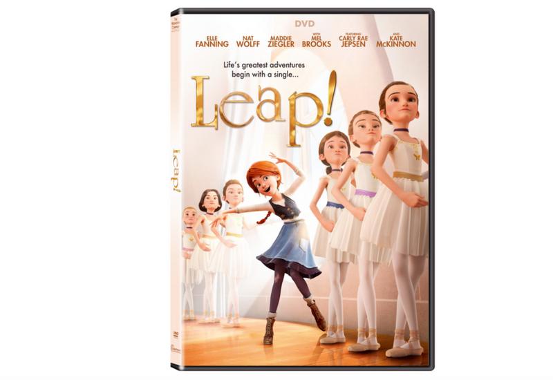 Gana el DVD de la película LEAP con la voz de Elle Fanning y Maddie Ziegler.