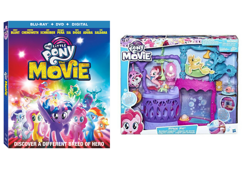 Sorteo My Little Pony: The Movie – 2 PLAYSETs + Blu-ray/DVD Combo Pack.
